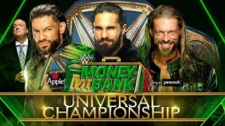 WWE Money In The Bank 2021 - Official And Full Match Card HD