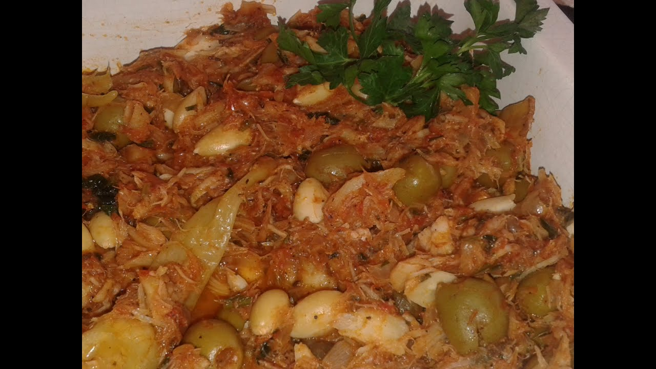 Bacalao a la mexicana youtube for Cocinar cocochas de bacalao