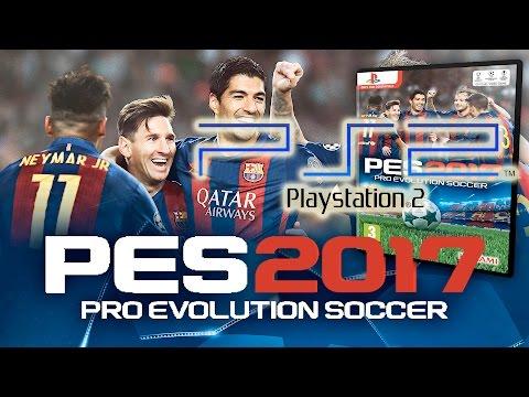 PES 2017 PS2 - Gameplay Español [PES 2017 PlayStation 2 VERSION FINAL]