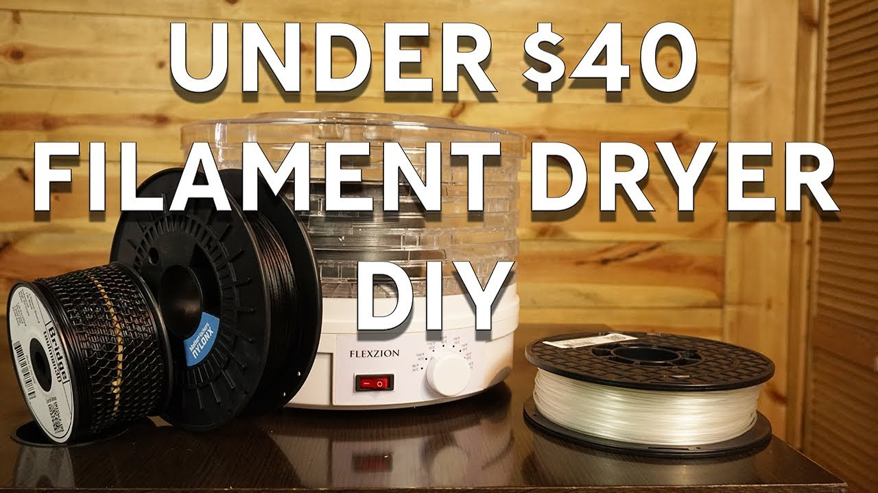 Diy 3d printing filament dryer for under 40 updated temps - Buy 3d printed house ...