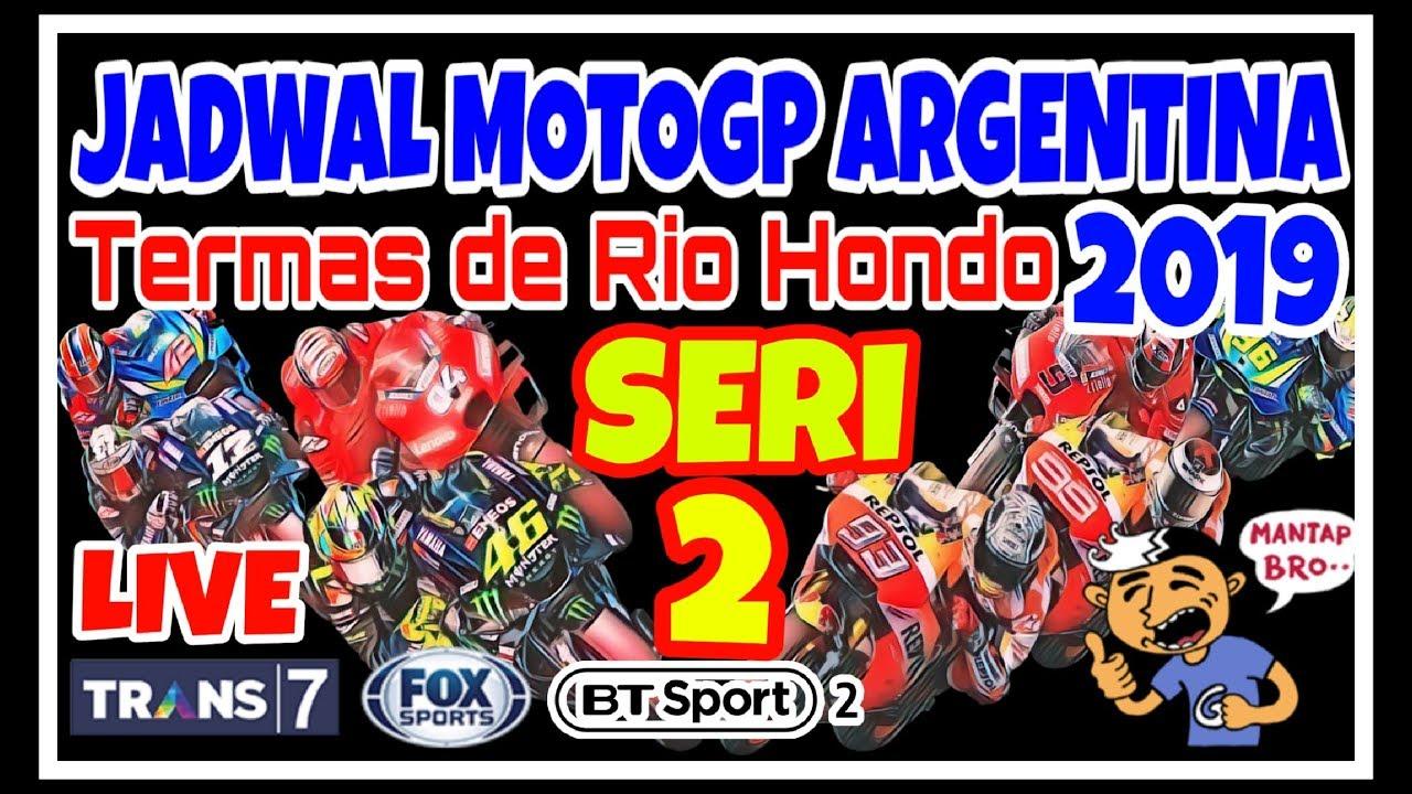 Jadwal MotoGP Argentina 2019  YouTube