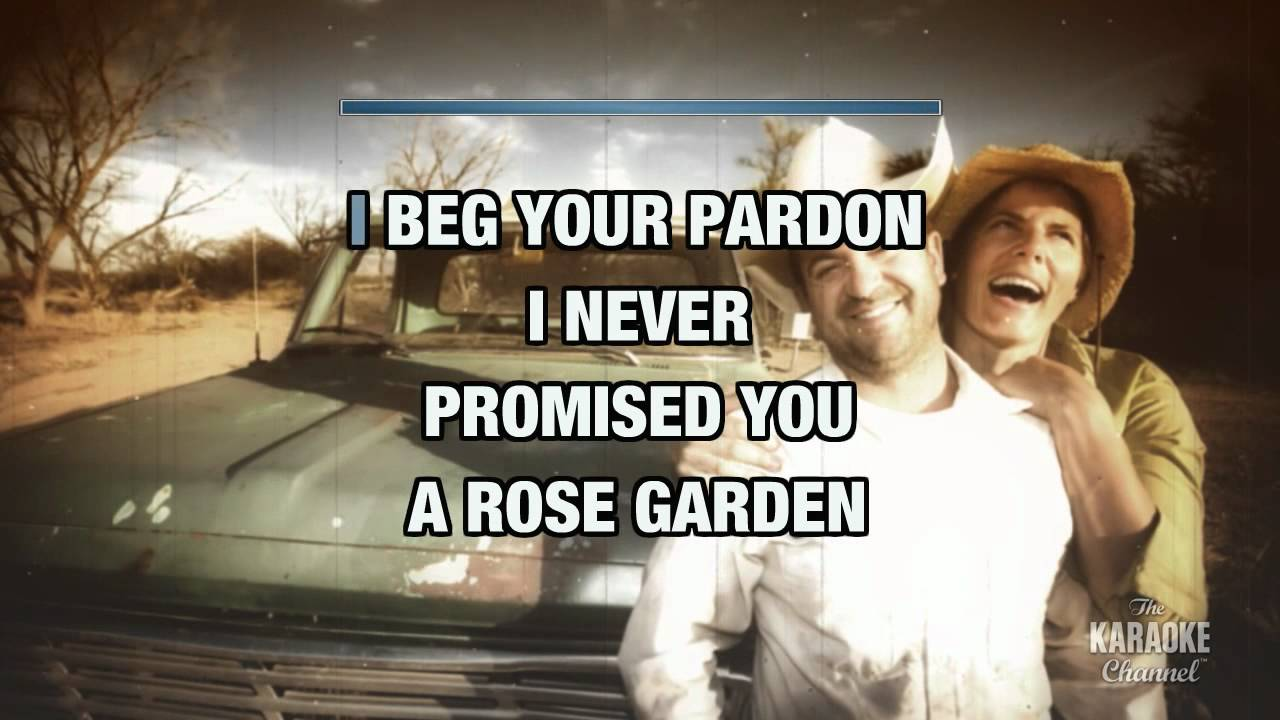 Rose garden in the style of lynn anderson with lyrics no lead vocal youtube for Lynn anderson rose garden lyrics