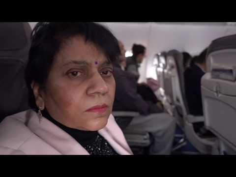 Aruna & Hari Sharma landed Frankfurt by Lufthansa LH809 parking at Gate B10, Jan 19, 2018