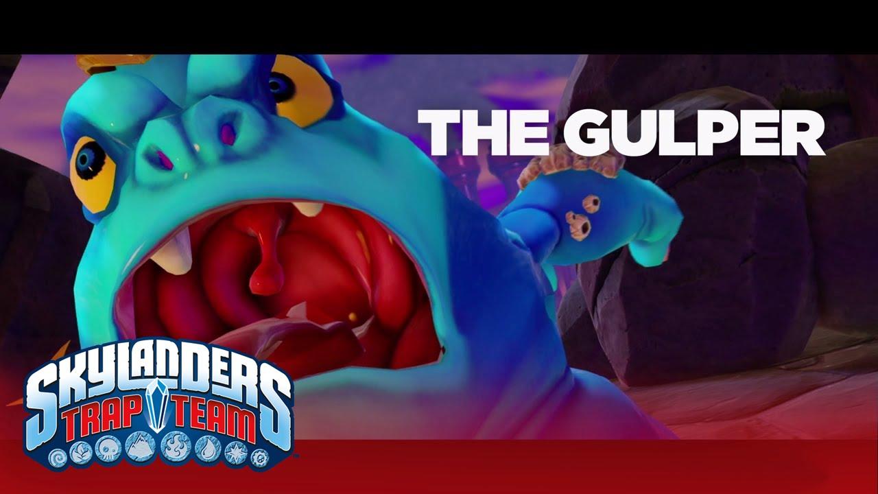 """Official Skylanders Trap Team: """"Meet the Villains: Gulper ..."""