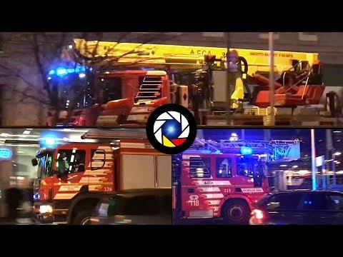 Départ Incendie Sapeurs-Pompiers de Lausanne