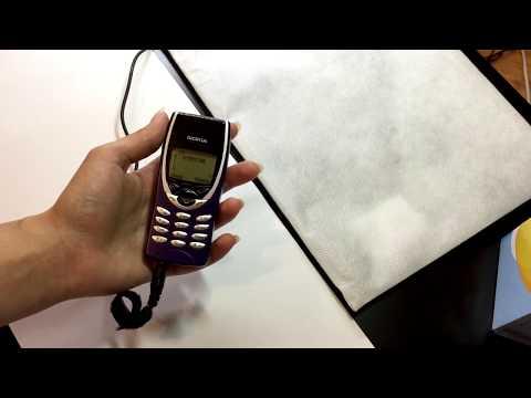 Nokia 8210 Blue, Rare Nokia 8210 with a full complete set