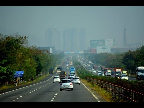 Magnificant Pune Mumbai expressway | High speed Indian travel