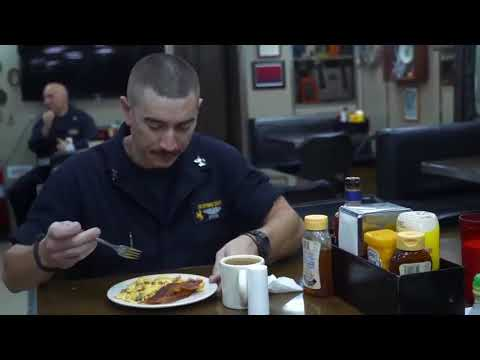 Life onboard a US Navy Ballistic Missile Submarine  USS Wyoming SSBN 742