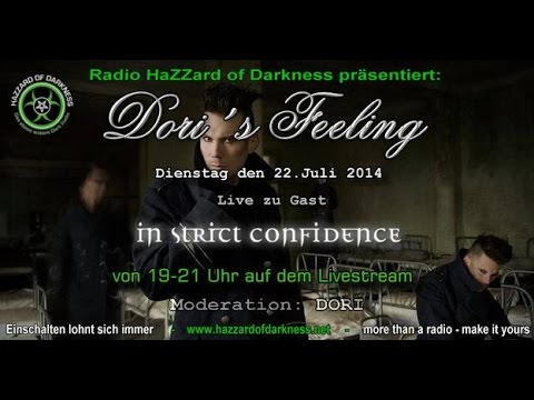 Radio Hazzard of Darkness - Dori's Feeling mit In Strict Confidence