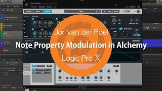 Advanced Modulation Techniques in Alchemy | Jor van der Poel