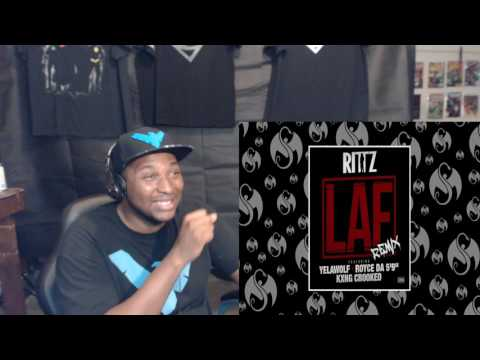 "Rittz - LAF Remix (Feat. Yelawolf, Royce Da 5'9"", & KXNG CROOKED) REACTION"