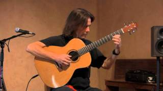 Michael Chapdelaine  - Cowboy Waltz - Video (solo fingerstyle guitar) original