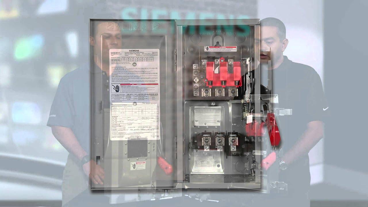 safety switches volt stream video series siemens [ 1280 x 720 Pixel ]