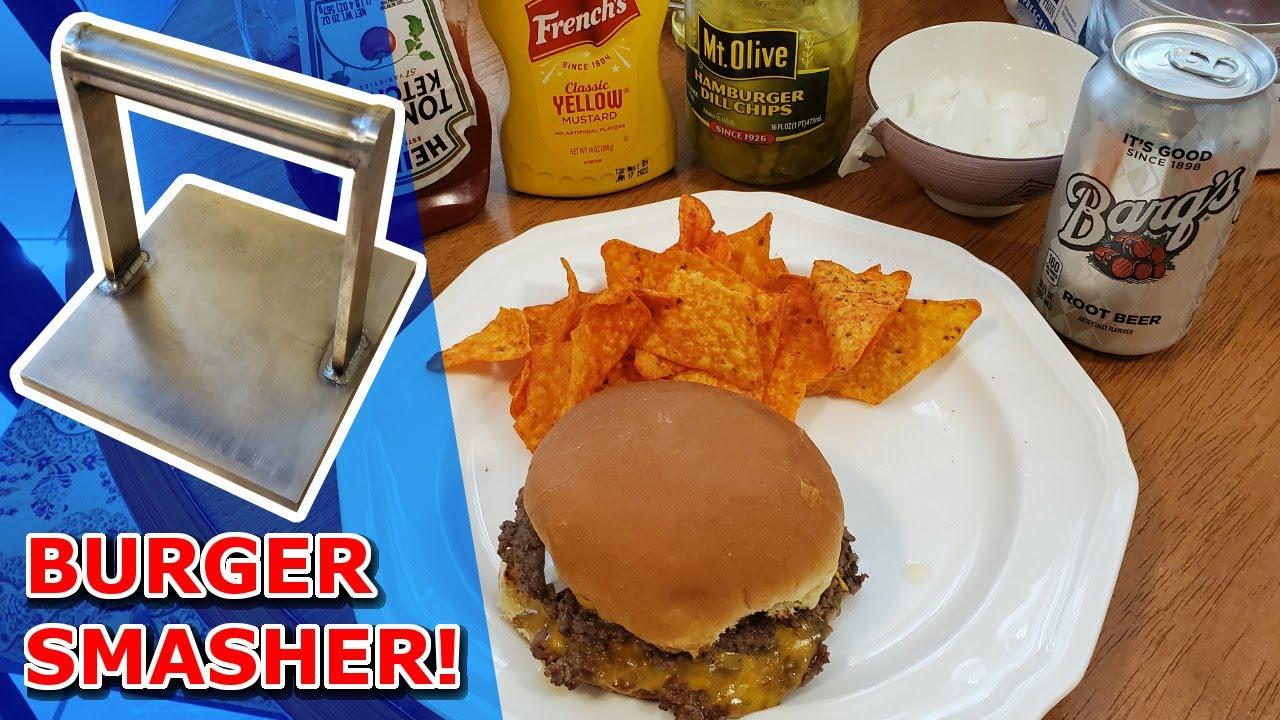 I Made a Burger Smasher!