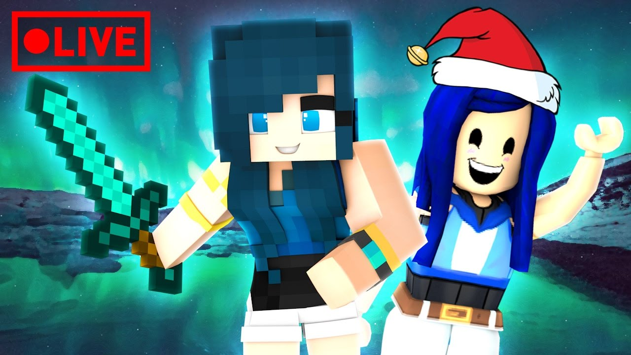 My Gift To You Happy Holidays Minecraft Roblox Livestream