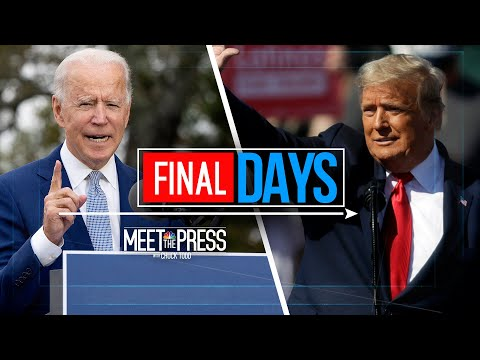 Meet The Press Broadcast (Full) - November 1st, 2020 | Meet The Press | NBC News