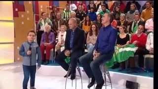 Menuda Noche 2014/15: Alejandro canta a Pepe Mel