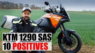 With a couple of weeks riding under my belt, this is my quick list of 10 things that I'm loving on the KTM 1290 Super Adventure S. Be sure to subscribe to the ...
