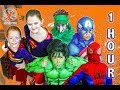 New Sky Kids Little Superhero Kids Compilation - 1 Hour of Super Squad Adventures