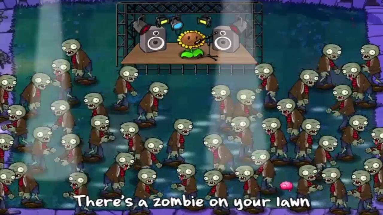 Plants Vs Zombies Music Video V13 With Lyrics Youtube