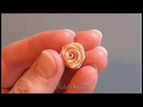 Розы своими руками из бумаги маленькие
