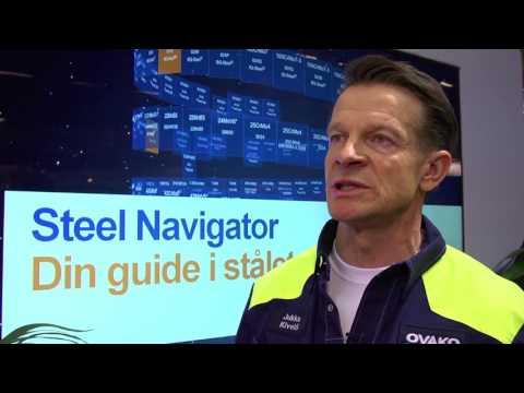 Elmia Subcontractor 2016 - Ovako launches Steel Navigator – find best steel for your requirements