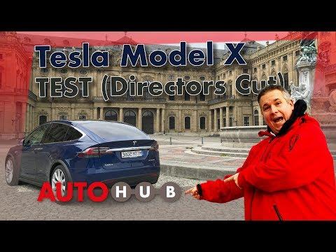 TESLA Model X P100D im Test- und Fahrbericht // Directors Cut