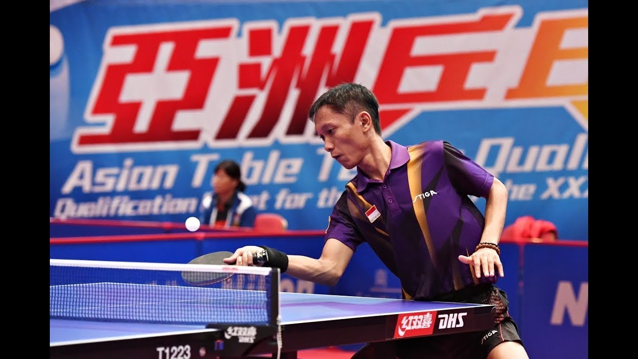 AJI Donny Prasetya  -/Attacker/- Indonesia table tennis player