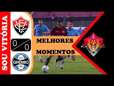 Vitória 0 x 0 Grêmio: Assista os melhores momentos