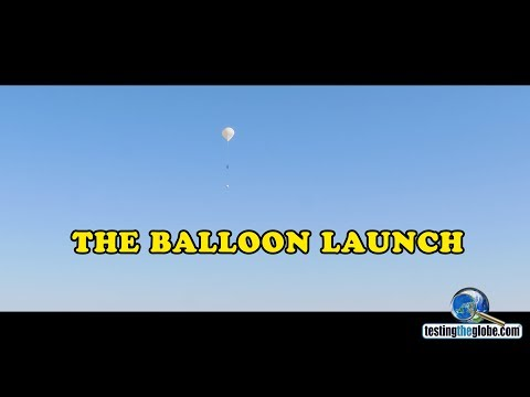 TestingTheGlobe's first balloon launch
