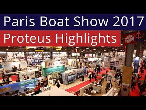 Proteus Attends the Paris Boat Show 2017!