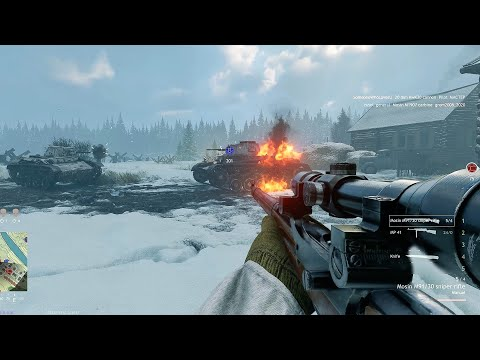 ENLISTED Gameplay - BATTLE FOR MOSCOW - OPEN BETA TEST [1440p 60FPS]