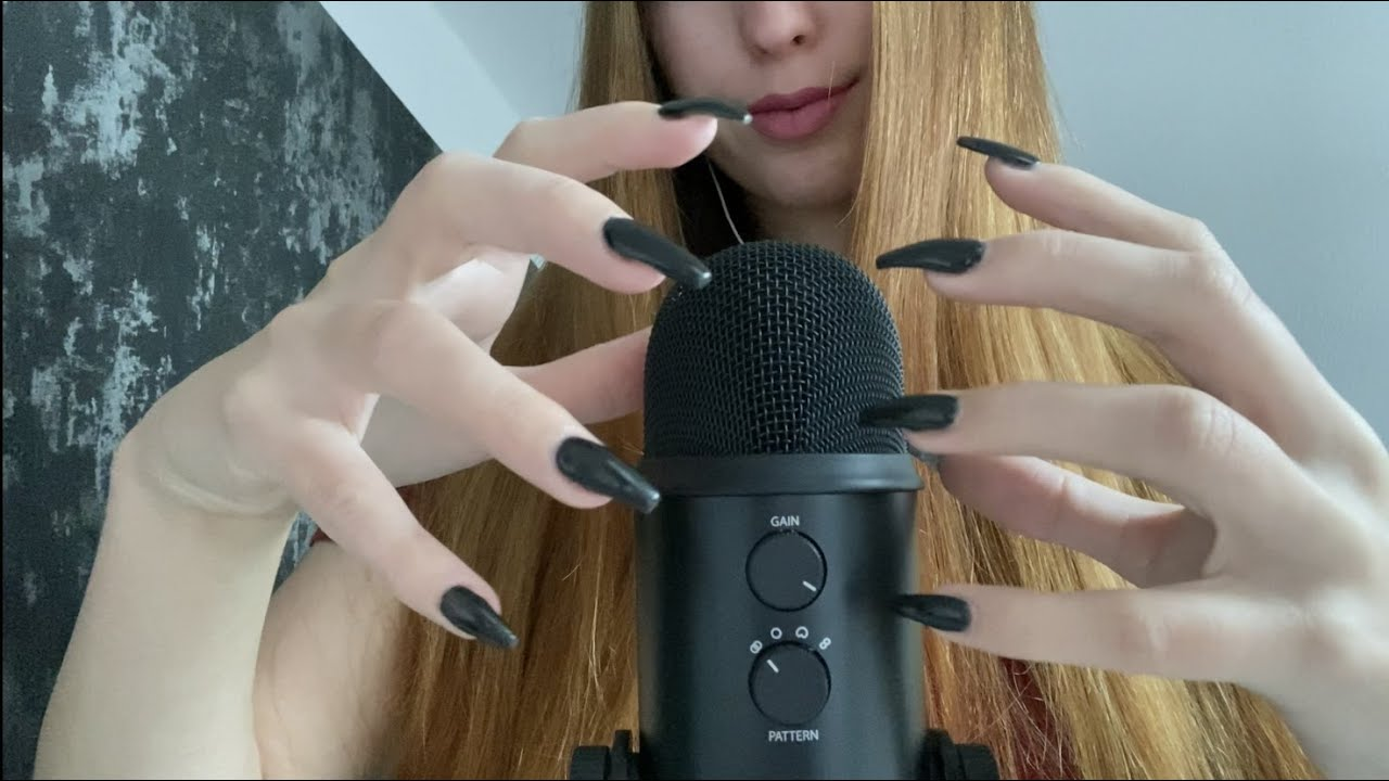 ASMR | MIC SCRATCHING with LONG CLAWS💥