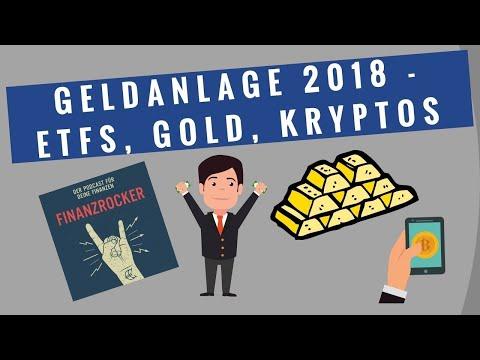 Geldanlage 2018 (ETFs, Bitcoin, Riester und Gold) - Interview mit Sara Zinnecker von Finanztip
