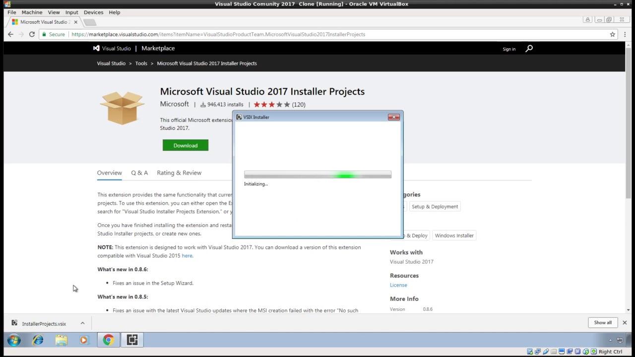InstallShield - Visual Studio 2017 setup project missing