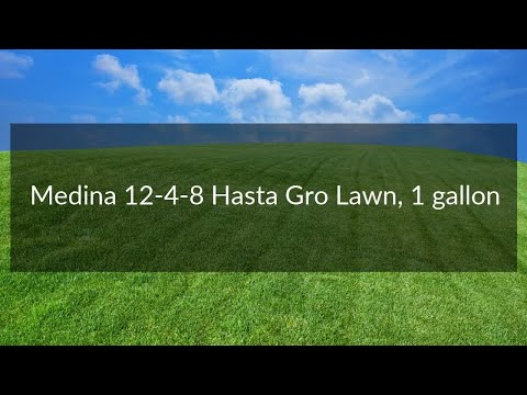 Medina 12-4-8 HastaGro Lawn, 1 gallon