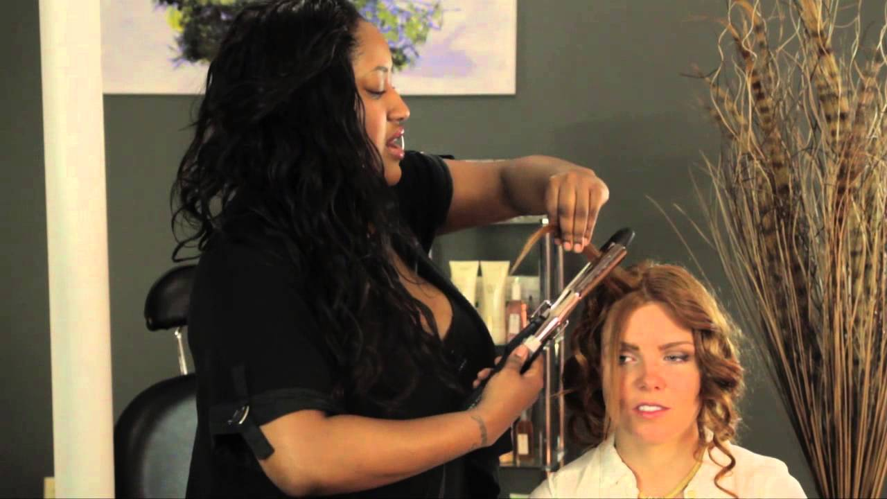 What Will a Perm Look Like on Fine, Limp Hair? : Styles for Long Hair - YouTube