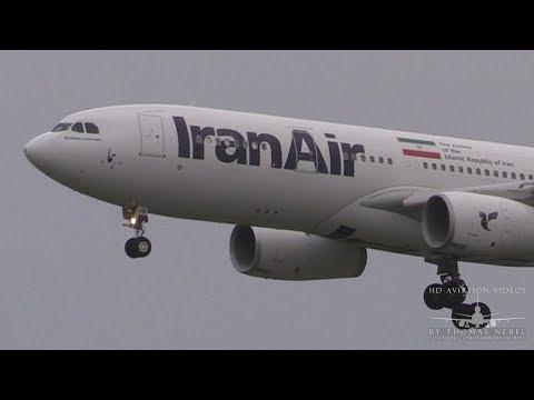 ᴴᴰ ✈ NEW Iran Air A330 Landing @ Hamburg