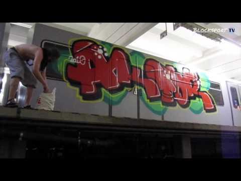 Vienna Subway Graffiti