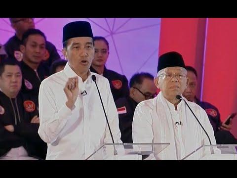 """Jokowi Singgung Juru Kampanye Prabowo """"Katanya Babak Belur, Ternyata Operasi Plastik"""""""