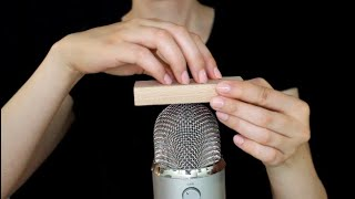 ASMR Fast & Intense Wooden Block Sounds • Rubbing • Scratching • Tapping (No Talking)