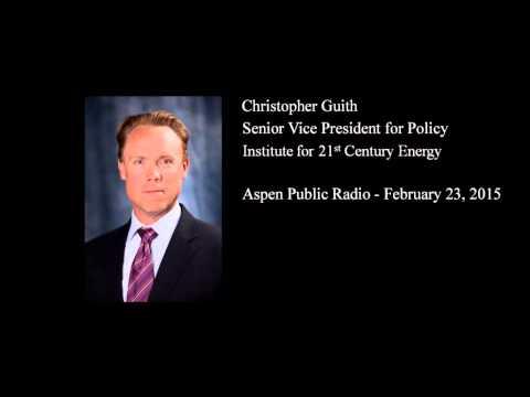 Radio: Christopher Guith on Aspen Public Radio