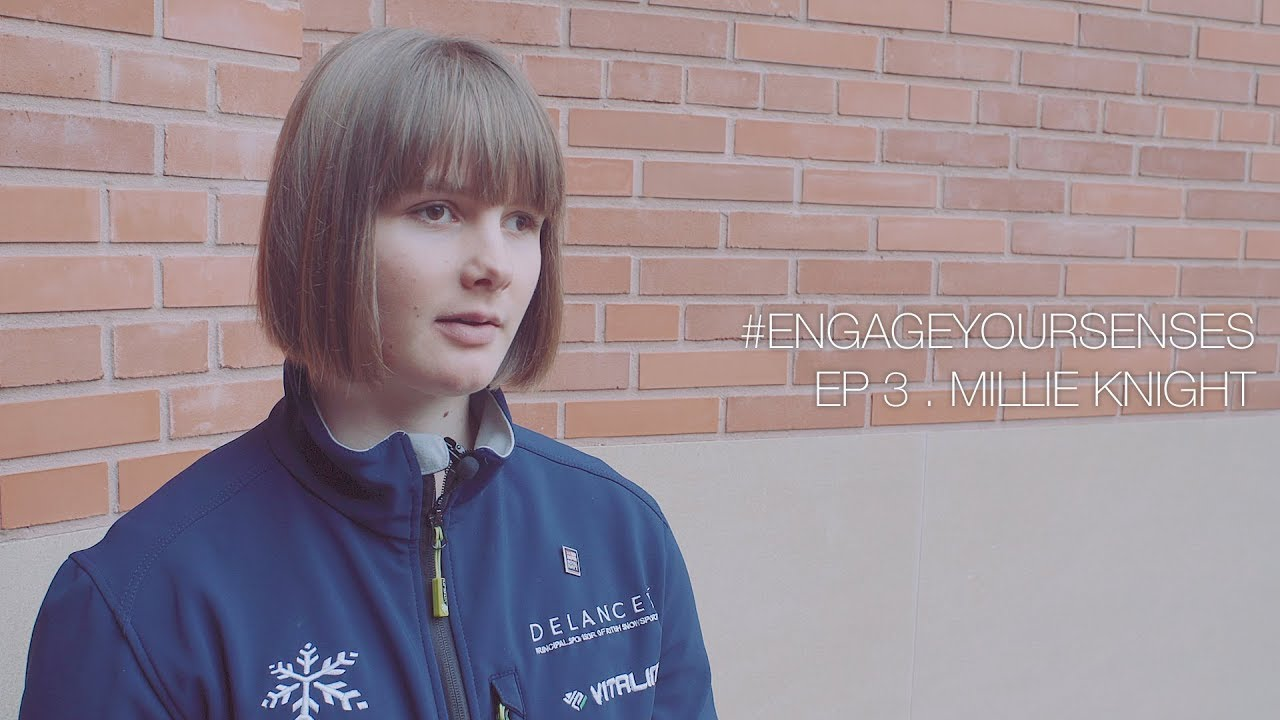#EngageYourSenses – Women's Stories of Adventure. Episode 3. Millie Knight