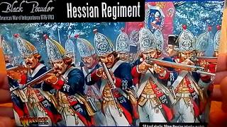 Warlord Games. Black Powder: Hessian Regiment 1776-1783 American War of Independence