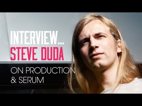 Steve Duda Interview - His production process and creating world class plugins.