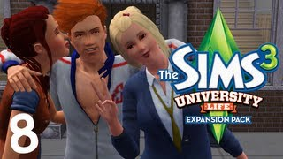 let s play the sims 3 university life part 8 nerdy love