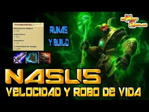 Nasus Solo Top Build  De Velocidad Y Lifesteal Season 6 Temporada 6 LOL