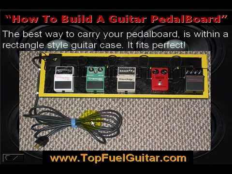 how to build a guitar pedal board youtube. Black Bedroom Furniture Sets. Home Design Ideas