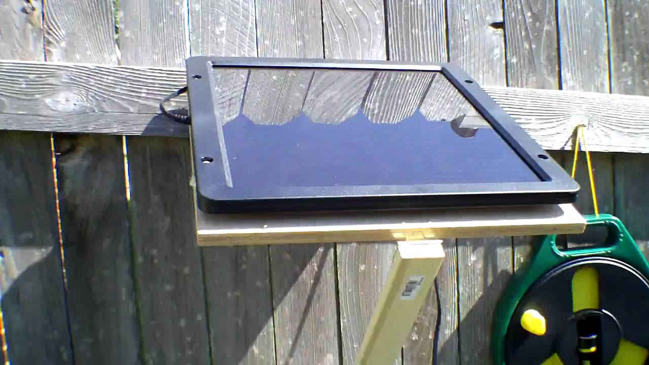 Completed Solar Ed Water Pump