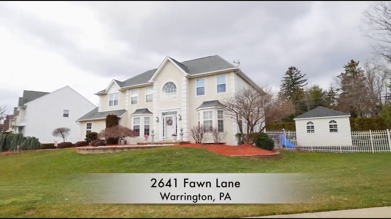 home for sale luxury 4 bed pool finll 2641 fawn warrington pa 18976 central bucks county real